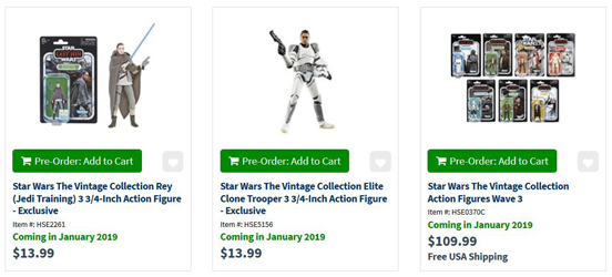 Entertainment Earth Updates Release Dates For Most TVC