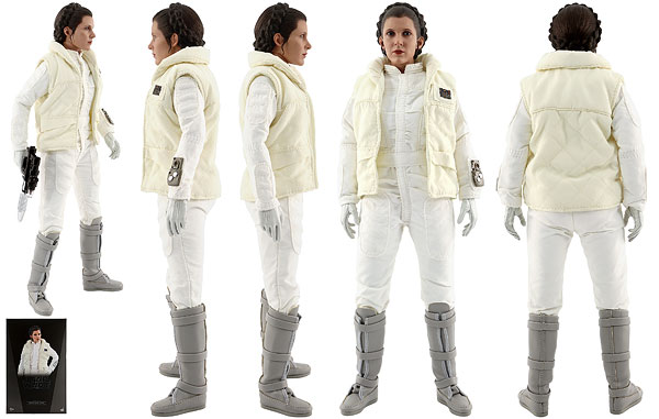 Princess Leia [Hoth] - Hot Toys - Sixth Scale Figures