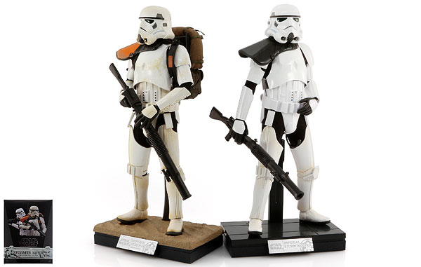 Stormtroopers Set - Hot Toys - Sixth Scale Figures