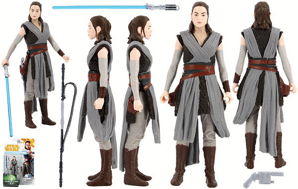 Rey (Jedi Training) - Star Wars [Solo] - Basic Figures