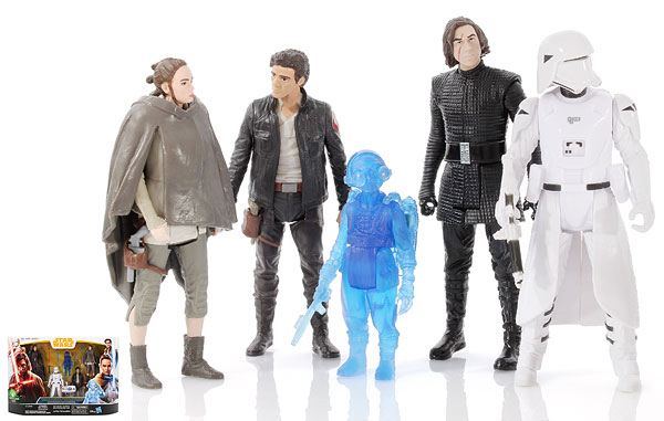 The Last Jedi 5-Pack - Star Wars [Solo] - Multipacks
