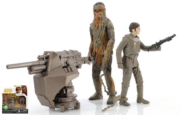 Chewbacca (Mimban)/Han Solo (Mimban) - Star Wars [Solo] - Two-Packs