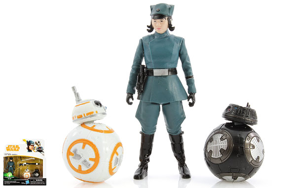 Rose (First Order Disguise)/BB-8/BB-9E - Star Wars [Solo] - Two-Packs
