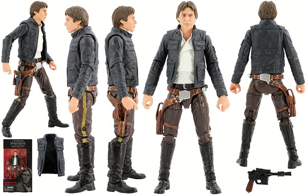 Han Solo (Bespin) (70) - The Black Series [Phase III] - 6-Inch Figures