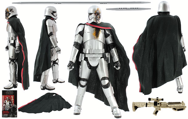 Captain Phasma (Quicksilver Baton) - The Black Series [Phase III] - 6-Inch Figures