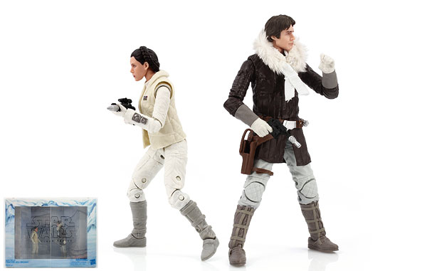 Han Solo/Princess Leia Organa - The Black Series (Exclusives)