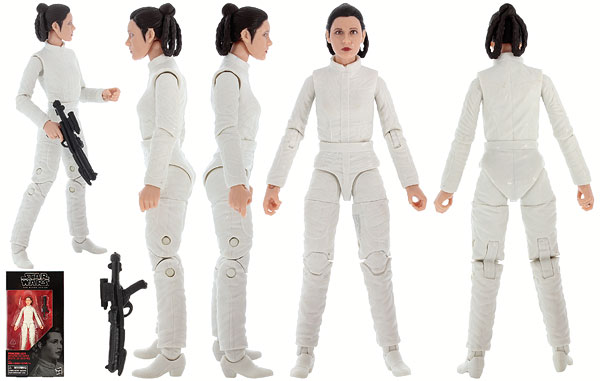 Princess Leia (Bespin Escape) - The Black Series