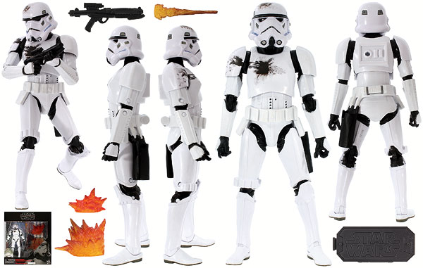 Stormtrooper (With Blast Accessories) - The Black Series - International Exclusive