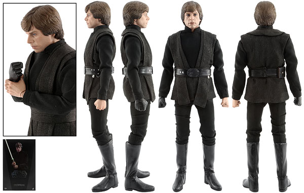 Luke Skywalker [Jedi Knight] - Hot Toys - Sixth Scale Figures