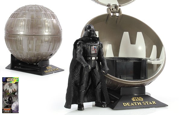 Death Star With Darth Vader - POTF2 [Green/Freeze Frame] - Complete Galaxy