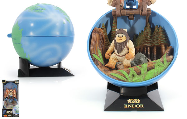 Endor With Ewok - POTF2 [Green/Freeze Frame] - Complete Galaxy