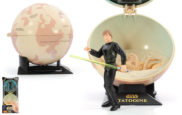 Tatooine With Luke Skywalker - POTF2 [Green/Freeze Frame] - Complete Galaxy