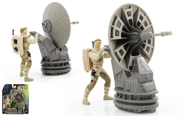 Hoth Rebel Soldier - The Power of the Force [Green/Freeze Frame] - Deluxe Figures