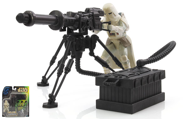 Snowtrooper - The Power of the Force [Green/Freeze Frame] - Deluxe Figures