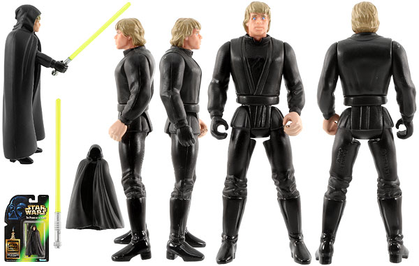 Luke Skywalker (Jedi Knight) (Theater Edition) - POTF2 [Green/Freeze Frame)