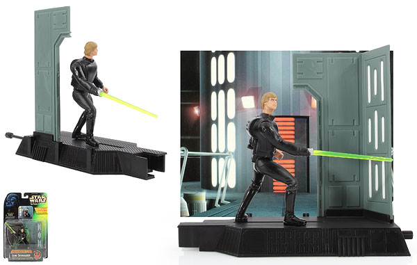 Luke Skywalker - POTF2 [Green/Freeze Frame] - Electronic Power F/X