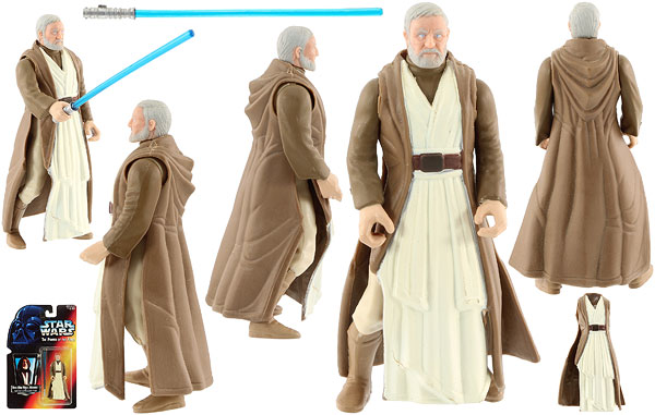 Ben (Obi-Wan) Kenobi - POTF2 [Red] - Basic Figures