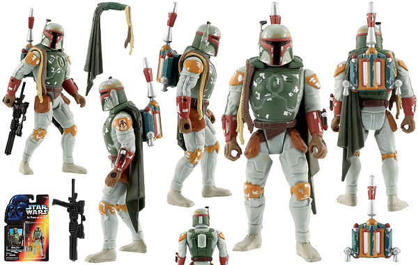 Boba Fett - POTF2 [Red] - Basic Figures