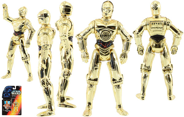 C-3PO - POTF2 [Red] - Basic Figures