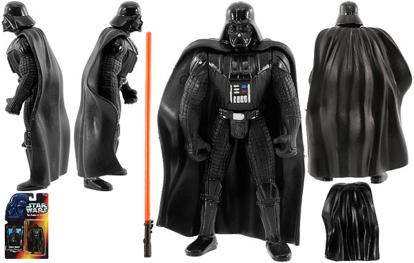 Darth Vader - POTF2 [Red] - Basic Figures