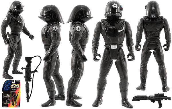 Death Star Gunner - POTF2 [Red] - Basic Figures
