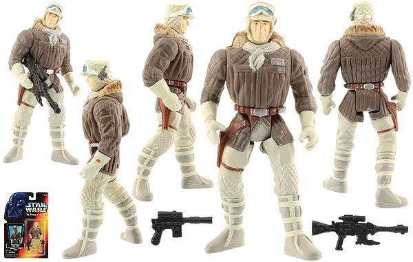 Han Solo (In Hoth Gear) - POTF2 [Red] - Basic Figures