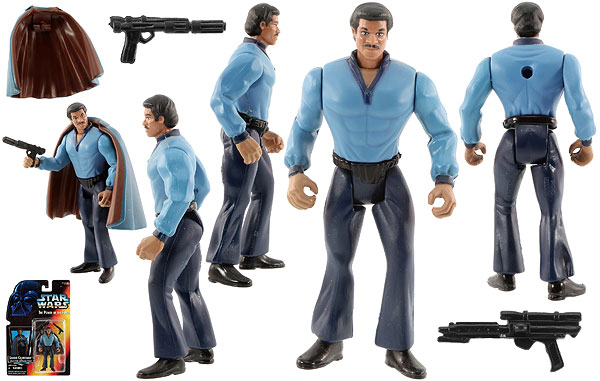 Lando Calrissian - POTF2 [Red] - Basic Figures