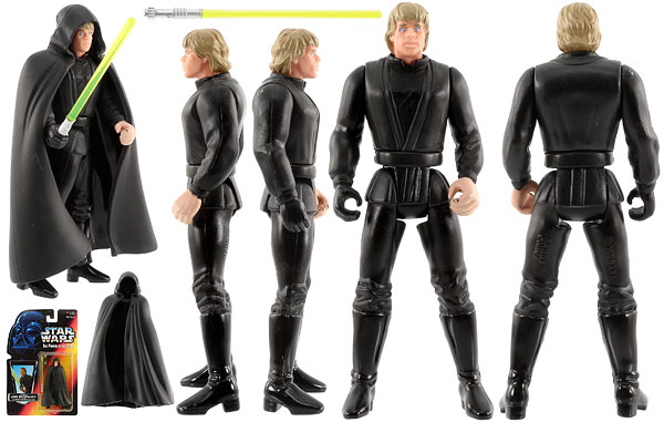 Jedi Knight Luke Skywalker - POTF2 [Red] - Basic Figures