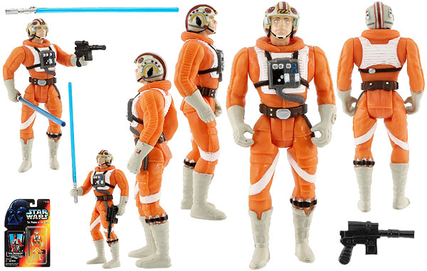 Luke Skywalker (In X-wing Fighter Pilot Gear) - POTF2 [Red] - Basic Figures