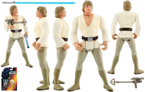 Luke Skywalker - POTF2 [Red] - Basic Figures