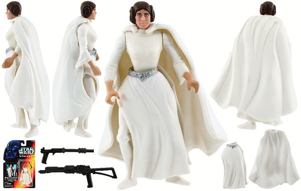 Princess Leia Organa - POTF2 [Red] - Basic Figures