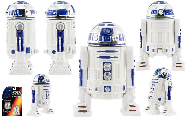 R2-D2 - POTF2 [Red] - Basic Figures
