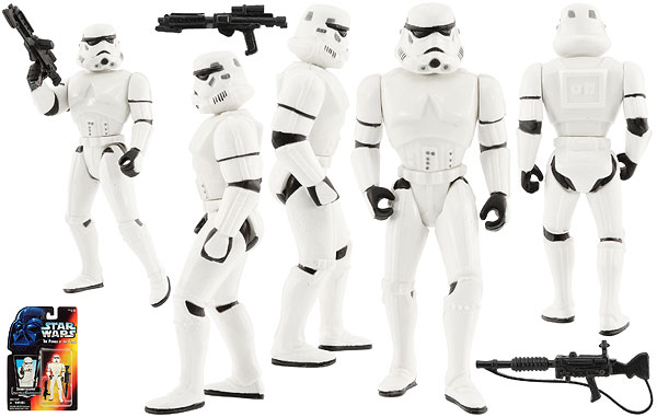 Stormtrooper - POTF2 [Red] - Basic Figures