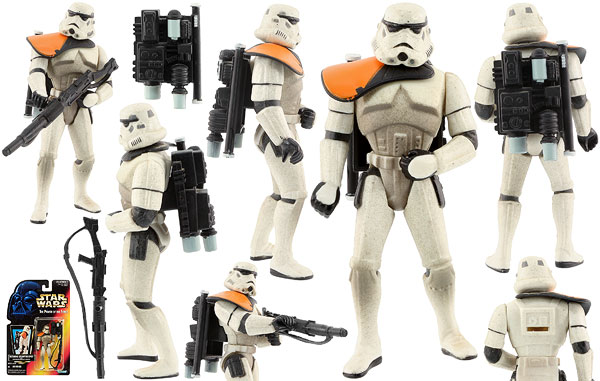 Tatooine Stormtrooper - POTF2 [Red] - Basic Figures