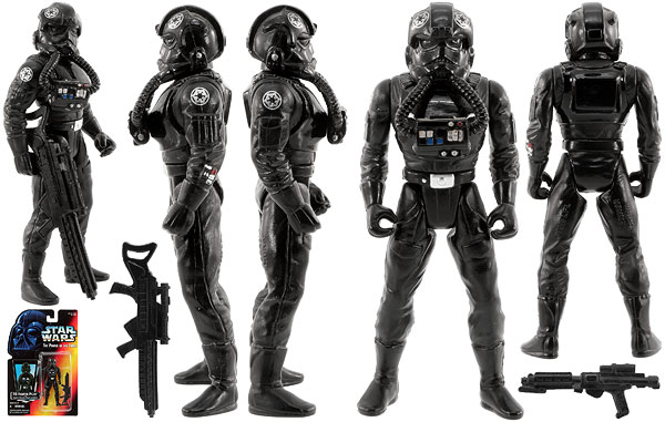 TIE Fighter Pilot - POTF2 [Red] - Basic Figures