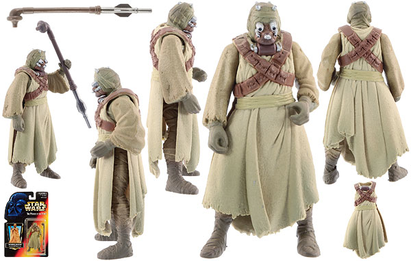 Tusken Raider - POTF2 [Red] - Basic Figures
