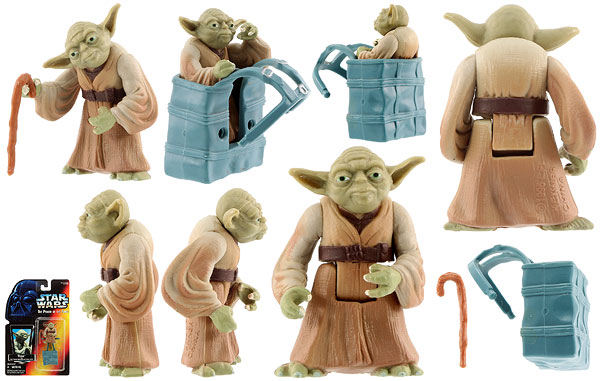 Yoda - POTF2 [Red] - Basic Figures