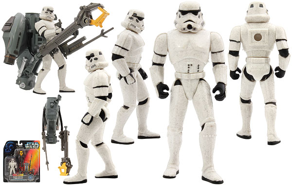 Crown Control Stormtrooper - POTF2 [Red] - Deluxe Figures