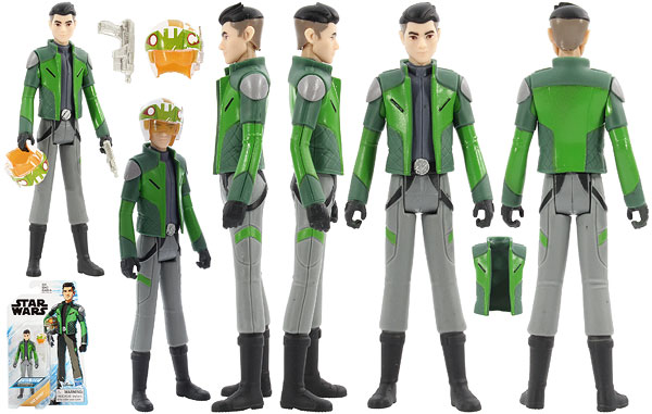 Kaz Xiono - Star Wars [Resistance] - Basic Figures