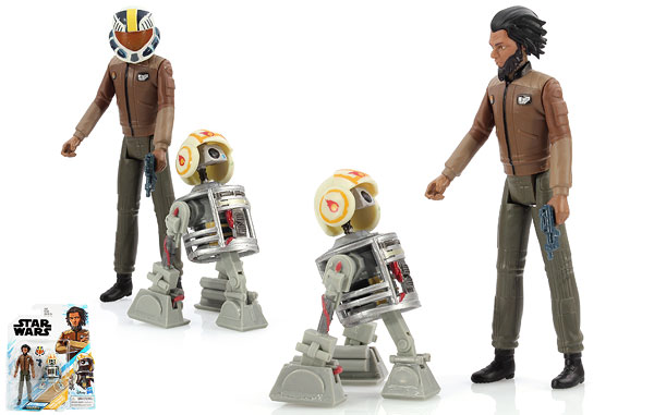 Jarek Yeager/Bucket (R3-B7) - Star Wars [Resistance] - Two-Packs