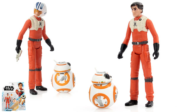 Poe Dameron/BB-8 - Star Wars [Resistance] - Two-Packs