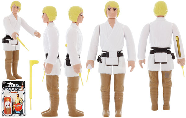 Luke Skywalker - Retro Collection