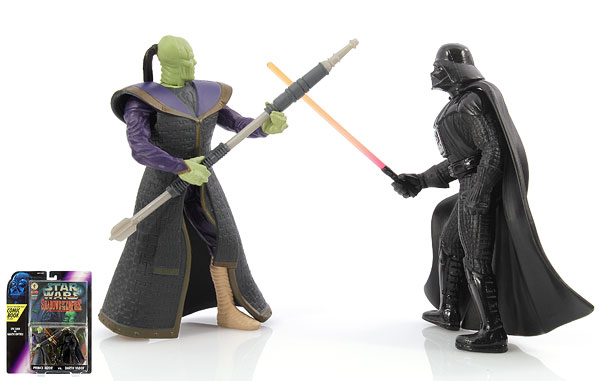 Prince Xizor Vs. Darth Vader - Shadows of the Empire - Comic Packs