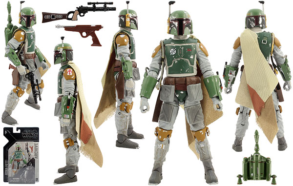 Boba Fett - The Black Series Archive - 6-Inch Figures