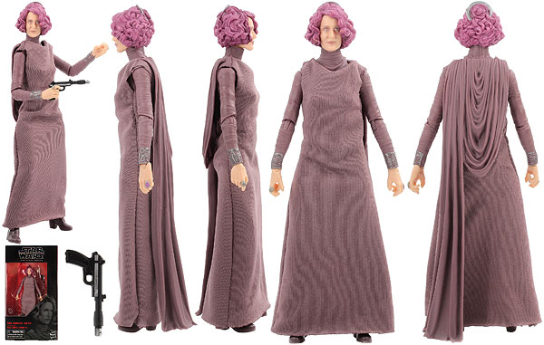 Vice Admiral Holdo (80) - The Black Series - 6-Inch Figures