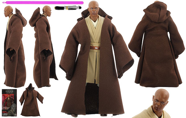 Mace Windu (82) - The Black Series - 6-Inch Figures