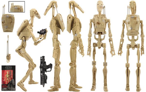 Battle Droid (83) - The Black Series - 6-Inch Figures