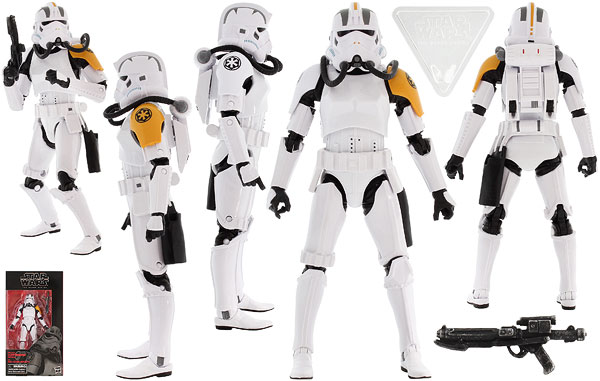 Imperial Jumptrooper - The Black Series - Exclusives