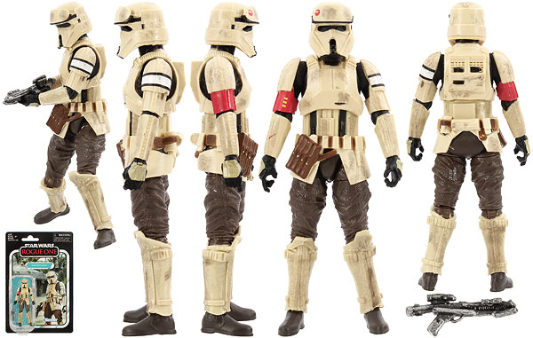 Scarif Stormtrooper (VC133) - The Vintage Collection