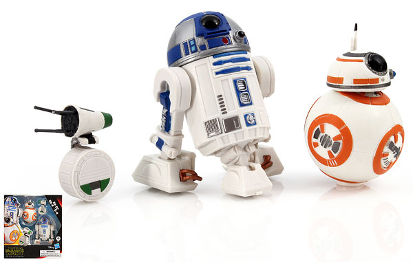 R2-D2/BB-8/D-O - Galaxy of Adventures - Five Inch Figures